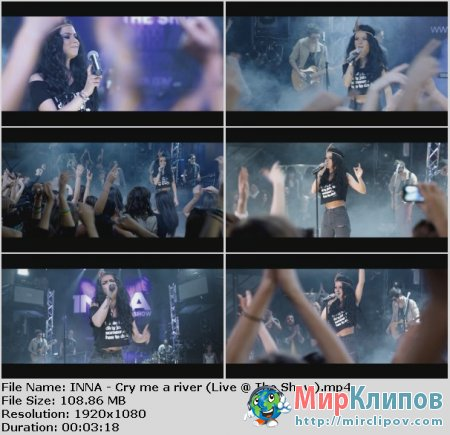 Inna - Cry Me A River (Live, The Show)