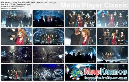 Mylene Farmer  - Du Temps (Live, Music Awards, 2012)