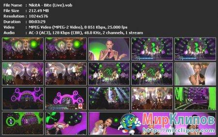 NikitA - Bite (Live)