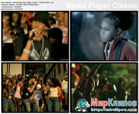 Alicia Keys Feat. Baby Cham - Ghetto Story