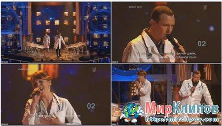 Альбина Джанабаева и Игорь Верник - Дорогие Мои Москвичи (Live, Две Звезды, 2012)