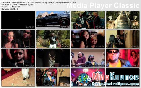 Shawty Lo Feat. Stuey Rock – All The Way Up