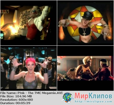 Pink - The TMC Megamix 2012