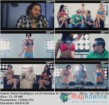Rene Rodrigezz vs. DJ Antoine Feat. MC Yankoo - Shake 3x (2K12 Radio Edit)