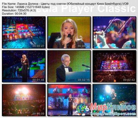 Лариса Долина - Цветы Под Снегом (Live, Юбилейный Концерт Кима Брейтбурга)