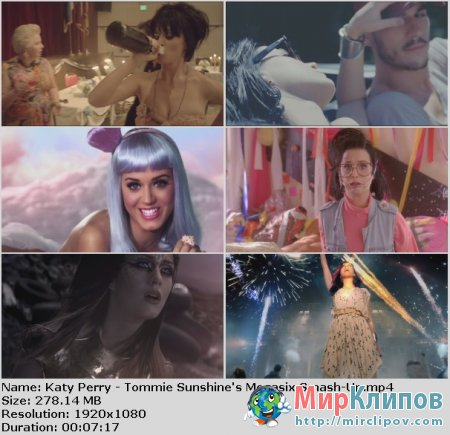 Katy Perry - Tommie Sunshine's Megasix Smash-Up