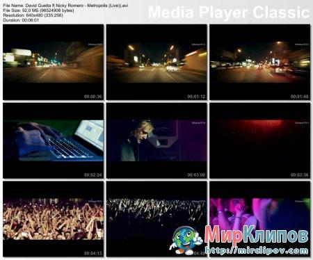David Guetta Feat. Nicky Romero - Metropolis (Live)