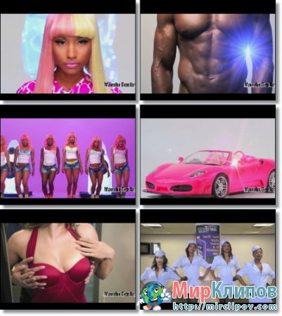 Sean Paul vs. Nicki Minaj vs. Coldplay - She Superbass