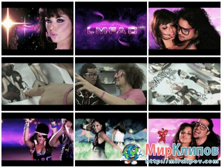 LMFAO Feat. Hyper Crush - La La La (Hyper Crush Remix) (Vj Tony Video Mix)