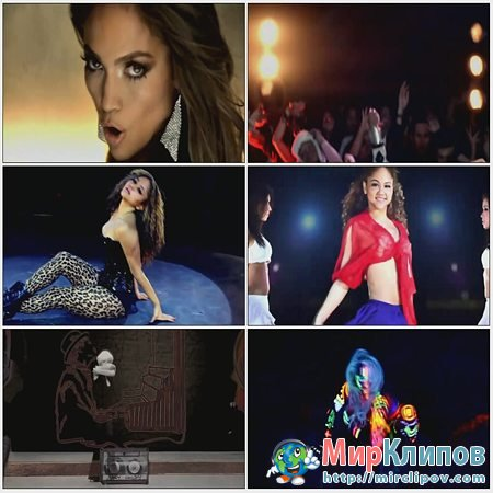 Jennifer Lopez, Lady Gaga, Bruno Mars, Kesha, Justin Bieber & Kat DeLuna - On The Floor (Megamix)