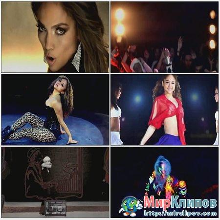 Jennifer Lopez, Lady Gaga, Bruno Mars, Kesha, Justin Bieber & Kat DeLuna - On The Floor (Megamix)