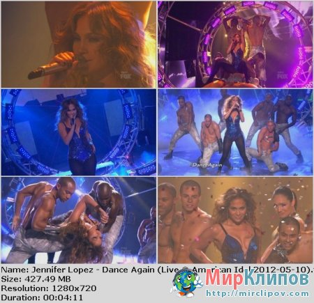 Jennifer Lopez - Dance Again (Live, American Idol, 10.05.2012)