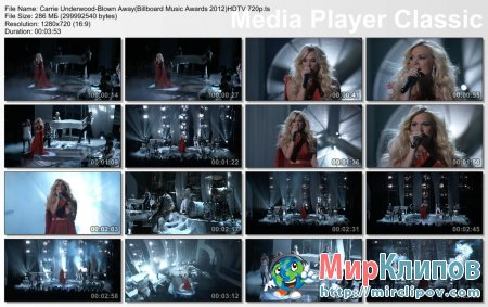 Carrie Underwood - Blown Away (Live, Billboard Music Awards, 2012)