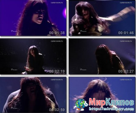Loreen (From Sweden) - Euphoria (Live, Eurovision, 2012)