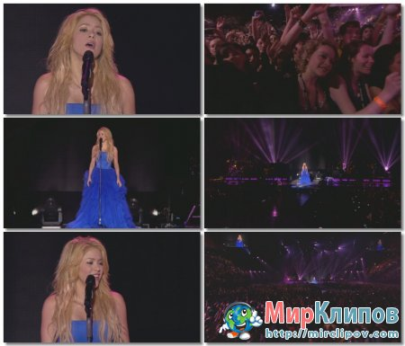Shakira - Je L'aime A Mourir (Live, Paris)