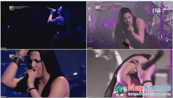 Evanescence - Going Under (Live, MTV World Stage, 2012)