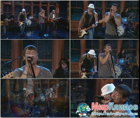 3 Doors Down - Every Time You Go (Live, Craig Ferguson, 2012)