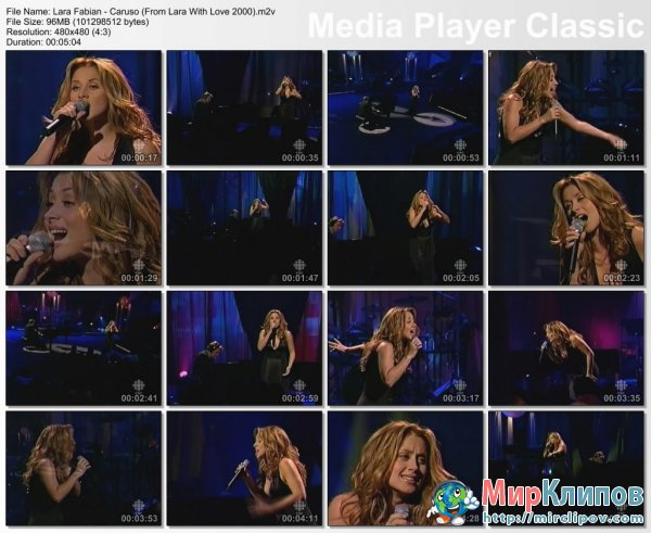 Lara Fabian - Caruso (Live, From Lara With Love, 2000)