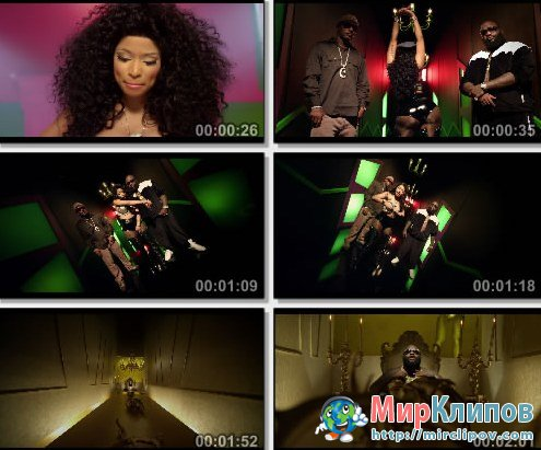 Nicki Minaj Feat. Cam'Ron & Rick Ross - I Am Your Leader