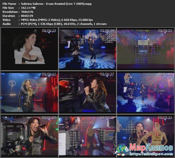 Sabrina Salerno - Erase Rewind (Live, 2009)