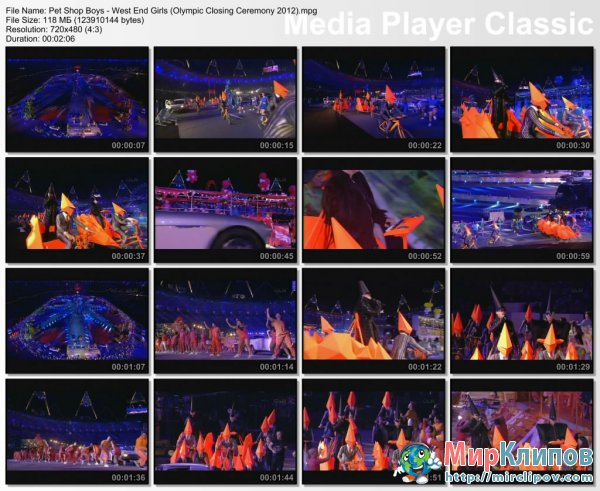 Pet Shop Boys - West End Girls (Live, Olympic Closing Ceremony, 2012)
