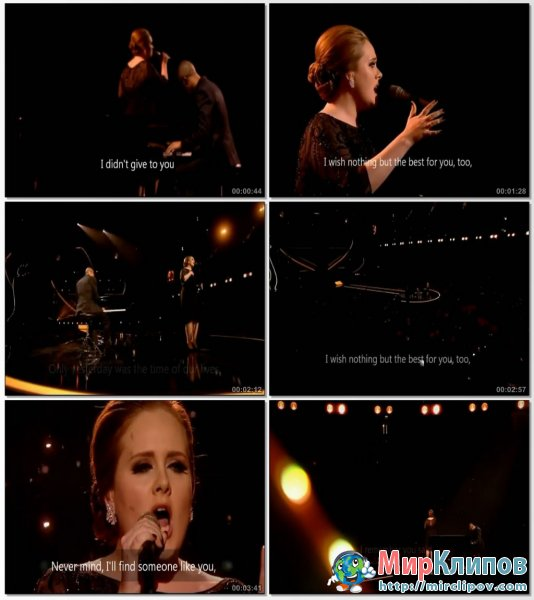 Adele - Someone Like You (Live)