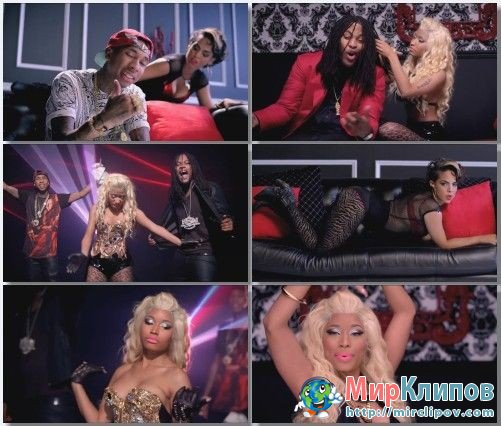Waka Flocka Flame Feat. Nicki Minaj, Tyga & Flo Rida - Get Low