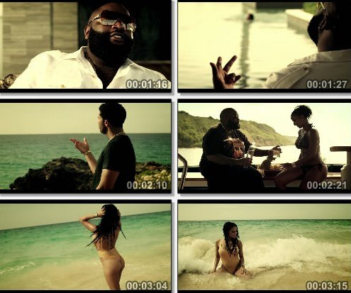Rick Ross Feat. Drake & Wale - Diced Pineapples