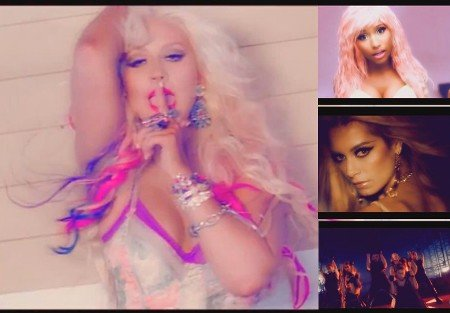 Christina Aguilera, Sergey Lazarev, Havana Brown, Usher & Nicki Minaj - We Take Off Your Body (DJ Linuxis Mash Up)