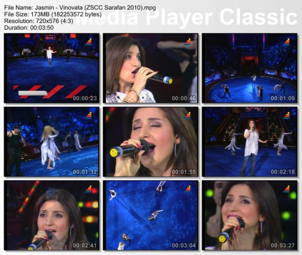 Жасмин - Виновата (Live, Звездное Шоу В Цирке На Цветном, 2010)