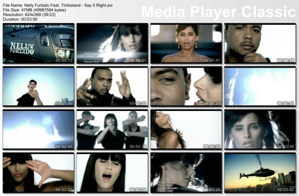 Nelly Furtado Feat. Timbaland - Say It Right