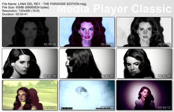 Lana Del Rey - The Paradise Edition