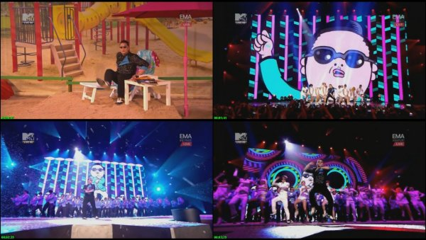 PSY — Gangnam Style (Live, MTV Europe Music Awards, 2012)