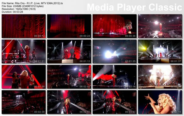 Rita Ora - R.I.P. (Live, MTV EMA, 2012)