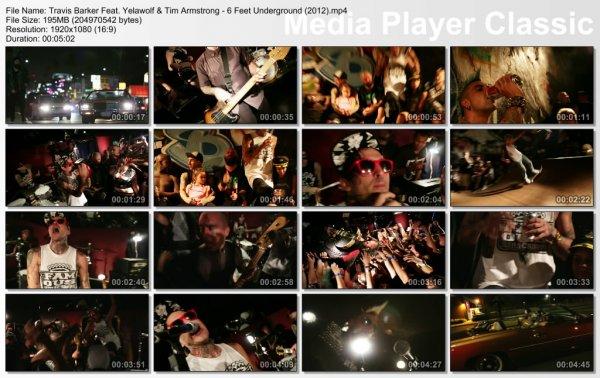 Travis Barker Feat. Yelawolf & Tim Armstrong - 6 Feet Underground