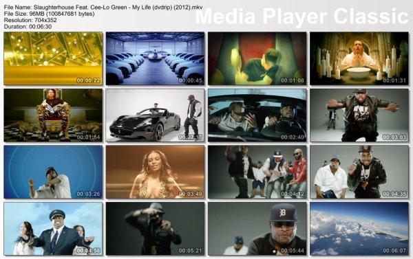 Slaughterhouse Feat. Cee-Lo Green & Eminem - My Life