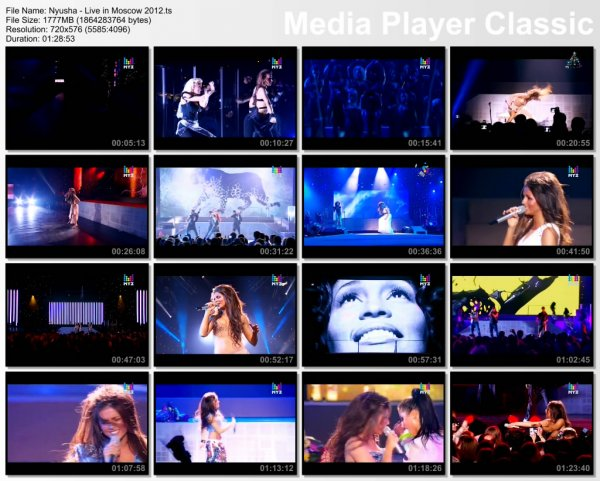 Нюша - Первый Сольный Концерт В Москве (Live, Крокус Сити Холл, 28.04.2012)