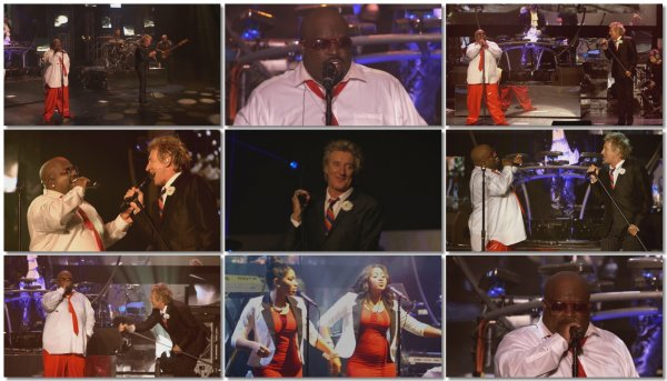 CeeLo Green Feat. Rod Stewart - Merry Christmas, Baby (Live)