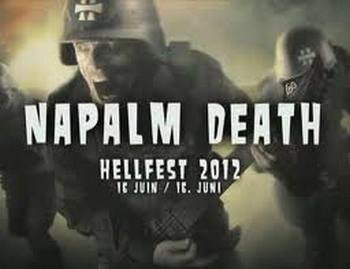 Napalm Death - Hellfest (Live)