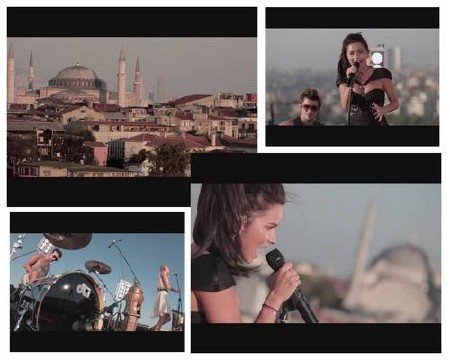 Inna - Party Never Ends (Rock The Roof, Istanbul)