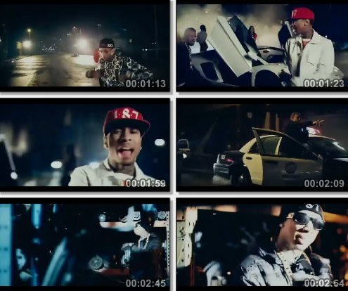 Tyga Feat. The Game - Switch Lanes