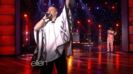 Macklemore Feat. Ryan Lewis - Thrift Shop (Live, The Ellen DeGeneres Show, 2013)