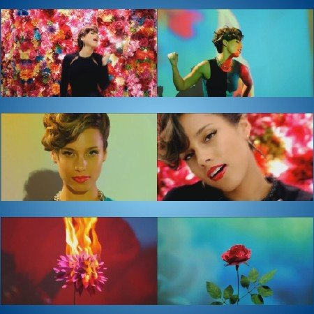 Alicia Keys - Girl On Fire (Japan Version)