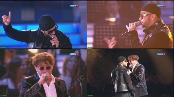 Григорий Лепс и Тимати - Лондон (Live, Песня Года, 2012)