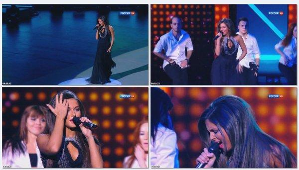 Нюша - Наедине (Live, Праздничное Шоу Валентина Юдашкина, 2013)