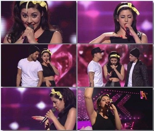 Marina And The Diamonds - Medley (Live, X-Factor DK Final, 2013)