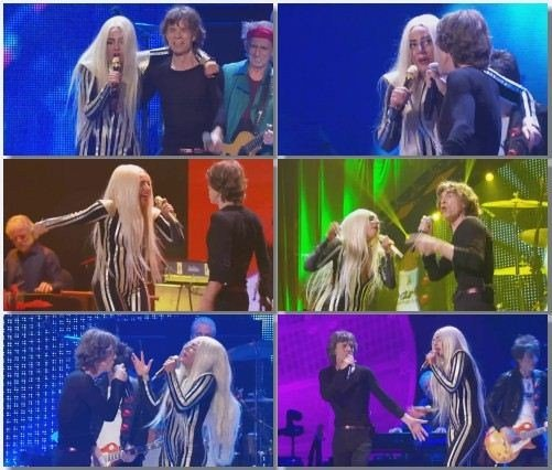 The Rolling Stones feat. Lady Gaga - Gimme Shelter (Live, 2012)