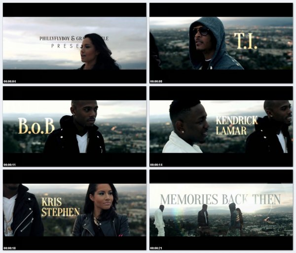 T.I., B.o.B, Kendrick Lamar ft. Kris Stephens - Memories Back Then