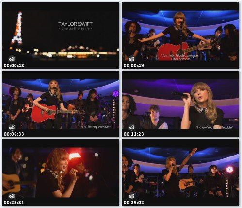 Taylor Swift  - Live On The Seine (Paris 2013)