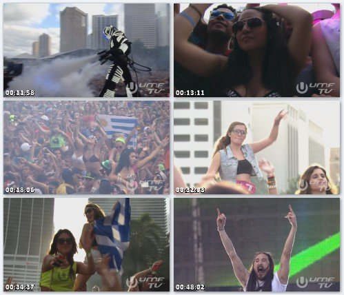Steve Aoki - Live at Ultra Music Festival 2013